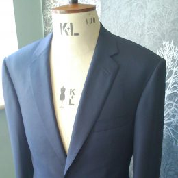 Navy Super 150's Suit