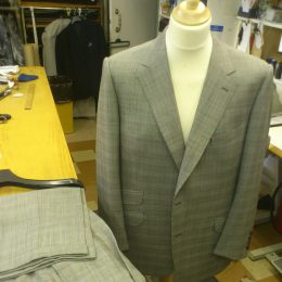 Holland & Sherry Prince of Wales Suit