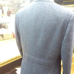 Tweed Jacket Back Detail