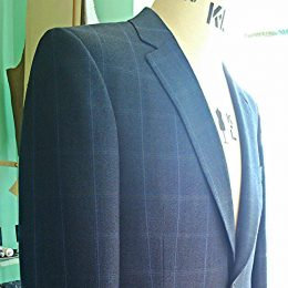 Navy Worsted Alsport Jacket