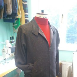 Donegal Tweed Harrington