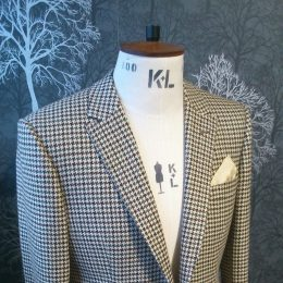 Dormeuil Cashmere Jacket. Vintage cloth - brand new coat.