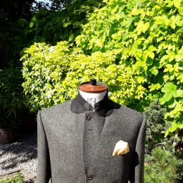 3 Btn Harris Tweed Jacket - Buttoned Up