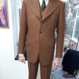 W Bill hand loom Harris Tweed 3 piece suit